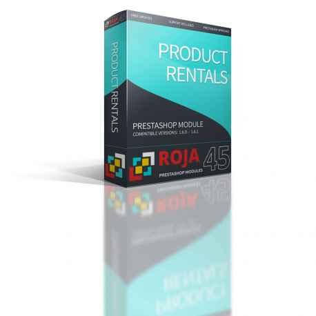 Roja45:Alquiler Productos y Tema